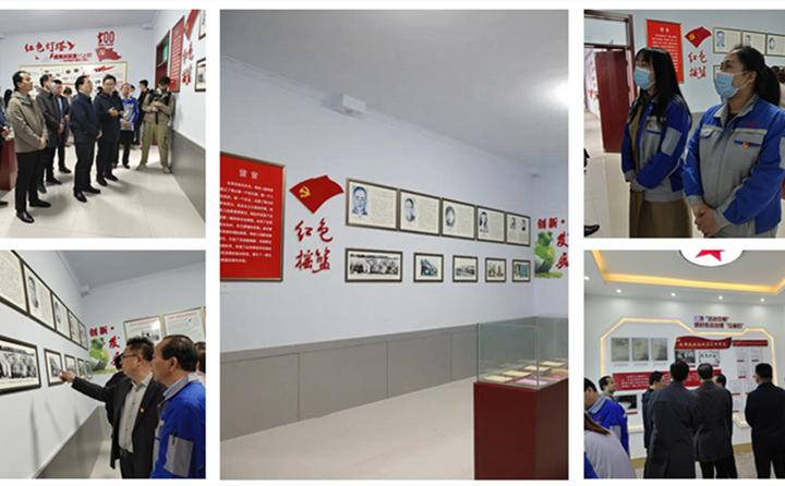 大家聆听了郭恒祥烈士开展工人运动、成立章丘第一个党组织、第一个工会、第一个贫民协会的事迹.jpg